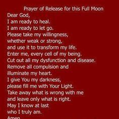Full moon release