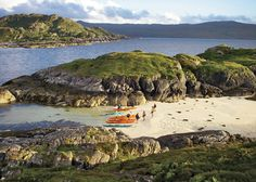 Arisaig, a stop on the 300-mile Scottish Sea Kayak Trail