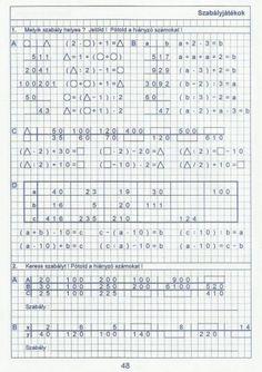 Kiszámoló 4. osztály Math Equations