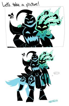 Let's take a picture! by inkinesss - Hecarim and Thresh