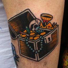 Embrace Your Inner Pirate With These 15 Treasure Chest Tattoos!