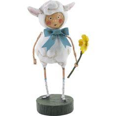 Lori Mitchell Easter Little Lost Lamb Sheep Spring Figure Figurine Decor - http://collectibles.goshoppins.com/holiday-seasonal/lori-mitchell-easter-little-lost-lamb-sheep-spring-figure-figurine-decor/