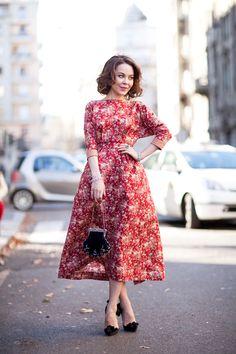 Ulyana Sergeenko's Got Ladylike Appeal on Harper's Bazaar tumblr.  Photo credit: Mr. Newton