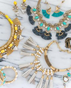 Just another way we're embracing fringe this season. #newarrivals #spring2016 #stelladotstyle