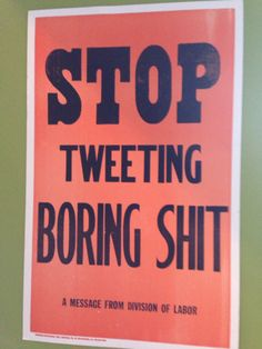 Found in the lobby at Twitter headquarters in LA (via #PeterFacinelli on Twitter)