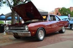 1969 Dodge Dart Street/Strip Muscle Car by clinteg http://www.musclecarbuilds.net/1969-dodge-dart-street-strip-build-by-clinteg