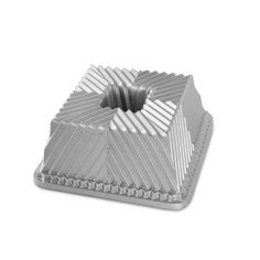 Shop online for Nordic Ware Bundt Pan - Square - 10 cup at Golda's Kitchen; the leading Canadian on-line shopping site for quality bakeware, cookware, and cake decorating supplies. Bundt Cake Pan, Cake Pans, Bundt Pans, Nordic Ware Bundt Pan, Square Pan, Aluminum Pans, Baking Supplies, Cake Supplies, Decorating Supplies