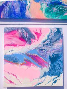 Fluid art Pretty In Pink, Abstract, Artwork, Summary, Work Of Art, Auguste Rodin Artwork, Artworks, Illustrators
