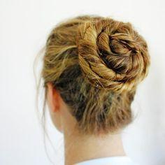 My perfect ballet bun!