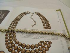 Romantique by Master Jeweler Monet Gold by MaryElainesVintage, $55.00