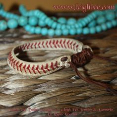 Baseball Bracelet Real Base The Youth Mens