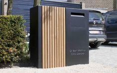 Door Gate Design, Entrance Design, Fence Design, Brick Mailbox, Metal Garden Gates, Modern Mailbox, Mounted Mailbox, Wooden Gates, Modern Landscaping