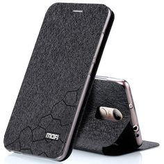 Mofi phone case untuk xiaomi redmi note 4/note4x balik mewah mode berdiri kulit kembali cover untuk xiaomi redmi note 4/catatan 4x