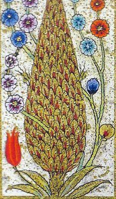 """Karamemi Biyografisi Hakkında Bulabildiklerimiz Türk tezhibinin yüzünü ağartan, müzehhipler zümresinden olan Karamemi'den Mustafa Ali efendi """"Menakıbı Hünern"""" de şöyle bah… Animal Tattoos For Women, Mughal Miniature Paintings, Diy Resin Art, Cypress Trees, Tree Art, Islamic Art, Persian, Miniatures, Sketches"""