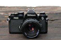 Nikon with Nikkor Lens by on Etsy Antique Cameras, Vintage Cameras, Still Photography, Photography Camera, Camera Gear, Slr Camera, Bear Mounts, Nikon 35mm, Wonderful Machine