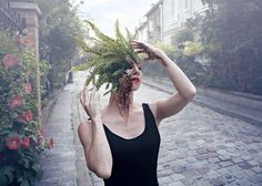 Cal Redback's Unsettling Photographs of People Fused with Nature