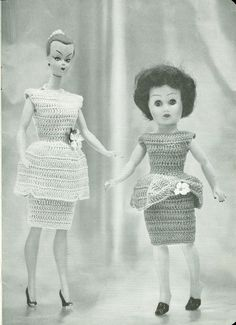 Doll Clothes Knitting & Crochet Pattern Book FOR 8 by dianeh5091
