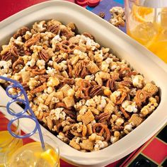 Caramel+Corn+Snack+Mix+-+The+Pampered+Chef®