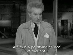 Jean Cocteau in Le testament d'Orphée (1960).
