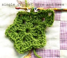 crochet star tutorial @Gina Gab Solórzano Gab Solórzano Miller