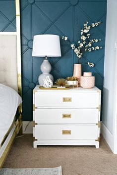 Modern Ranch Reno: Master Bedroom Sources - Classy Clutter