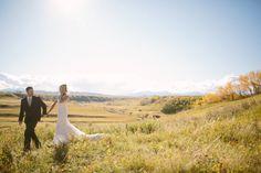 Stampede Queen Gets Married in True Western Style! - Calgary Bride