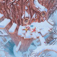Click Clock Wood Winter An Art Print By Matt Rockefeller In 2020 Art Prints Art Giclee Art Print
