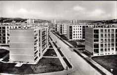 Kilián lakótelep   Képeslapok   Hungaricana Kili, Modernism, Hungary, Budapest, Cities, Multi Story Building, Beautiful, Modern Architecture, City