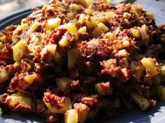 Recipe of The Day: Easy Corned Beef Hash « Banginfood