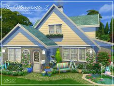 The Marysville 2 is a family home built on a 20 x 20 lot. Found in TSR Category 'Sims 4 Residential Lots'