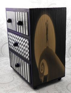 NIGHTMARE BEFORE CHRISTMAS TALL DRESSER - Google Search