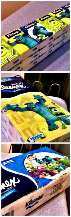 Monsters University Kleenex =D
