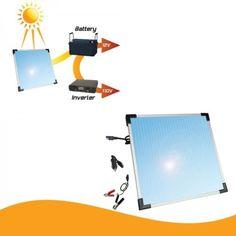 Solar-Panel-12v-Battery-Trickle-Charger-5-Watt-Boat-Marine-Battery-Power-Sun