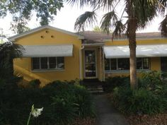 Classic Florida Bungalow | Travel | Vacation Ideas | Road Trip | Places to Visit | St. Petersburg | FL | HomeAway