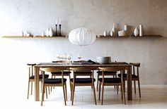 A minimalist style for a dining room is always a good idea. Minimalist dining room design is fulfilled with the basic beliefs of minimalism – simple design.