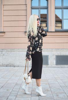 So stylst du den neuen Trend - weiße Schuhe - für den Herbst Winter richtig. Mehr Herbst und Winter Trends sind auf meinem Mode Blog Sandra Levin.