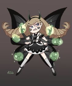 - So my dark Star will help Star defeat Mina and. Butterfly Family, Star Butterfly, Tumblr Stars, Desenhos Love, Star Force, Villainous Cartoon, Evil Art, Imagenes My Little Pony, Phineas And Ferb