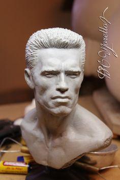 1:3 Arnold Schwarzenegger by Pedro-Moretto on DeviantArt