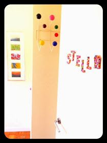 Baby Eco Chic: A, B, C Pearls to iron: DIY colorfull letters for decoration of kid´s room Bügelperlen