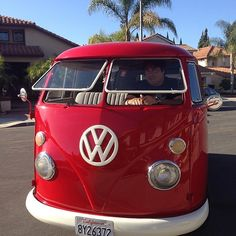 1964 Red Vw bus