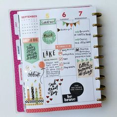 Here's the first half of my birthday week layout. I'm only using stickers from the rose gold sticker pack and the birthday page in the seasonal value pack.