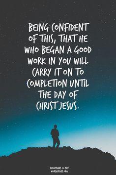 2015: Philippians 1:6