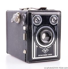 Agfa Synchro 600 Box Camera c1950's by sasta10 on Etsy, £11.99