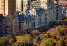 New York  -  The top seven cities in Autumn.