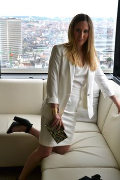 Fashion Blogger @Fashionwise BLOG at The Hotel. Brussels for a Mer du Nord photo shoot: http://www.v-fashionwise.com/