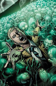 Constantine #6 par Eddy Barrows et Eber Ferreira comicspournoob.com