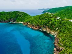 Part of the British Virgin Islands, this lesser known getaway comprises 8 white sand beaches and a nature preserve abundant with hiking paths.