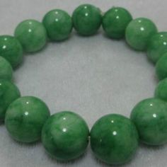 Green Jade Jadeite Bracelet from GODIS JEWELZ for $3.00