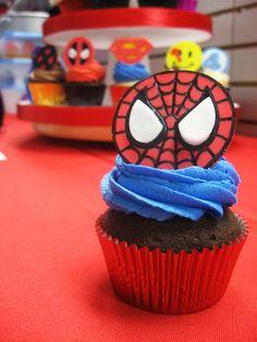 Superhero Cupcakes | by Jenny Burgesse