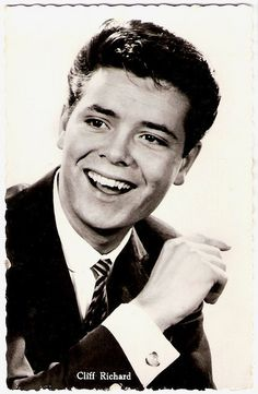 Cliff Richard -'Britain's answer to Elvis Presley'.